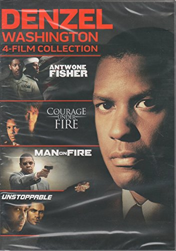 Denzel Washington 4-Film Collection: Antwone Fisher / Courage Under Fire / Man on Fire / Unstoppable