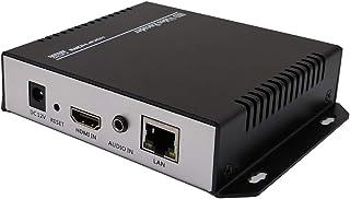 ISEEVY H.265 H.264 HDMI ビデオエンコーダー IPTV、ライブストリーム ブロードキャスト対応 RTMP RTMPS RTSP UDP MPEG FLV HLS TS プロトコル Facebook YouTubeアップスト...
