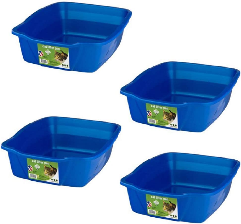 Van Ness Max 48% OFF Trust Small Litter Pan 4 Pack Assorted Colors Large