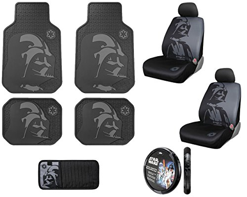 Star Wars Low Back Seat Cover with Head Rest Cover