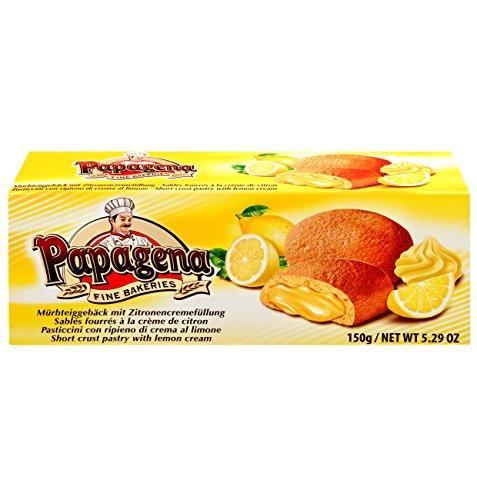 Biscuits mit Zitronencremefüllung 150g