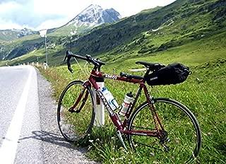 Home Comforts Peel-n-Stick Poster of Tyrol Austria Transalp Road Bike Pass Alpine High Vivid Imagery Poster 24 x 16 Adhesive Sticker Poster Print