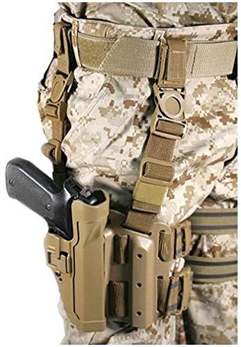 BLACKHAWK Serpa Level 2 Étui Tactique Coyote Tan Taille 04 Main Droite (Beretta 92/96/M9 STD ou A1 avec Rails (Non Brig/Elite)