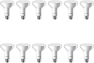 Philips LED Non-Dimmable BR30 Flicker-Free Light Bulb with EyeComfort Technology: 650 Lumens, 5000K, 65 Watt Equivalent, E26 Medium Screw Base Flood Light Bulb, Daylight, 12 Pack