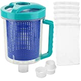 Pool Leaf Canister in-line Leaf Canister Catcher for Hayward Pool Spa Swimming Pool Cleaner, with Mesh Basket and...