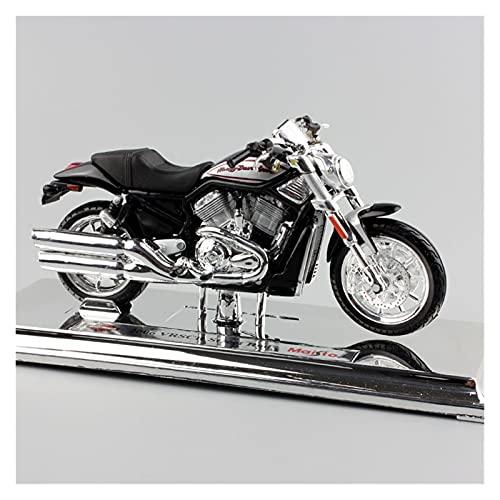 El Maquetas Coche Motocross Fantastico 1:18 para Harley 2006 VRSCR Street Rod Simulación Retro Aleación Modelo Motocicleta Colección Decoración Niño Regalo Coche Juguete Regalos Juegos Mas Vendidos