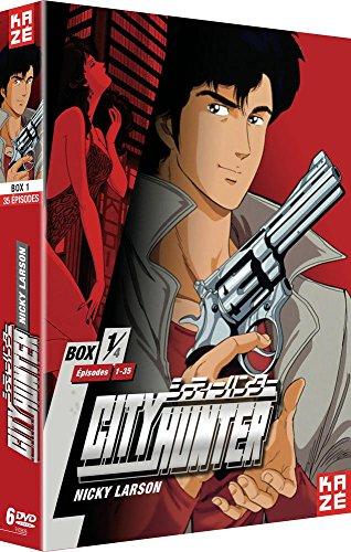 City Hunter-Nicky Larson-Coffret DVD 1/4
