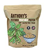 Anthony's Textured Vegetable Protein, TVP, 1.5 lb, Gluten Free, Vegan, Made in USA, Unflavored