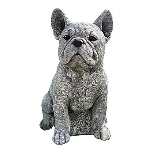 Estatua De Perro Adornos Para Perros Estatua De Decoración Conmemorativa De Cachorro De Resina Anti-grietas Con Forma De Perro De Jardín Esculturas De Perros Simulación Perro Estatua Sala De Estar