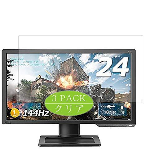 Vaxson Protector de pantalla de 3 unidades, compatible con monitor BenQ ZOWIE/XL2411 de 24 pulgadas, protector de película...