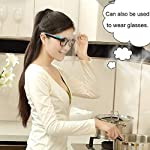 perlo33ER Transparente Anti-vaho Anti-Oil Splatter Full Face Shield Máscara Protector de cocina - Co... #6