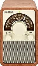 Sangean WR-15WL AM/FM Table Top Wooden Radio, Walnut (Renewed)