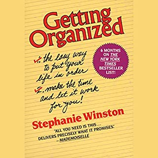 Getting Organized audiobook cover art