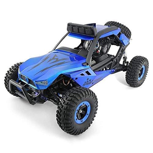 2.4G todo terreno ajustable velocidad del coche de RC es adecuado para, 4WD Escalada fuera de la carretera rc camiones, neumáticos Gran absorción de choque de carreras de coches, cumpleaños del niño d