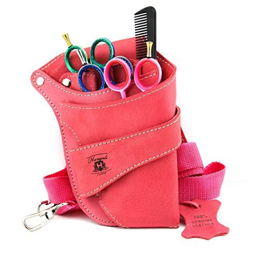 Rosa Farbe Damen Salon Training Schule und professionellen Einsatz Haarscheren-Tasche Scherentasche