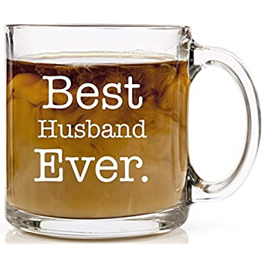 """Best Husband Ever"" Personalized Coffee Mug, Funny Mugs for Men, Perfect Wedding Gift for Husband, Funny Mug for Anniversary, Birthday, Father's Day, Husband Coffee Mug"