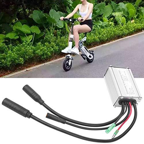 Kuuleyn Controlador de Motor eléctrico, 24V-48V Controlador de Panel de Pantalla Impermeable Adaptador Impermeable sin escobillas con Kit de Pasillo para Bicicleta eléctrica
