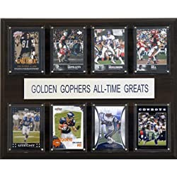 NCAA Football Minnesota Gophers All-Time Greats Plaque