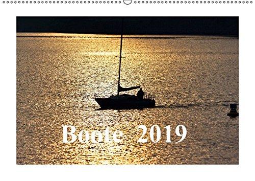 Boote 2019 (Wandkalender 2019 DIN A2 quer): Boote strahlen eine besondere Faszination zwischen Sport, Lebensart und Freiheit aus. (Monatskalender, 14 Seiten )