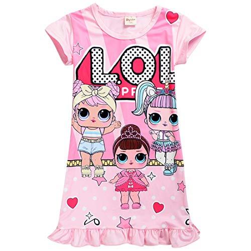 Schlafanzug / Schlafanzug mit niedlichem Puppen-Motiv, bequem, lose Passform, für...