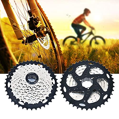 Rueda Libre Bicicleta, Piñón Rueda Libre, Ligero Rueda Libre 8V para MTB Bicicleta de Carretera Compatible con Shimano Sram (Excepto Sram XD),Silver 8s 11~40t