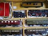 TREN PAYA CON SU MALETA ORIGINAL. 5 vagones, carbonera, máquina y transformador