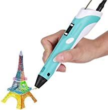 Super Debug 3D Pen-2 Professional,3D Printing Drawing Pen with 3 x 1.75mm ABS/PLA Filament for Creative Modelling, Project...