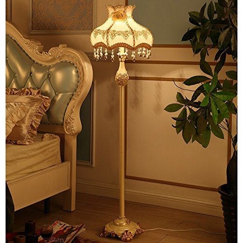 Good thing Lampadaire Lampadaire tissu résine 40 * 155cm salon européen chambre étude chaleureuse rétro art lumières (Couleur : Aristocracy)