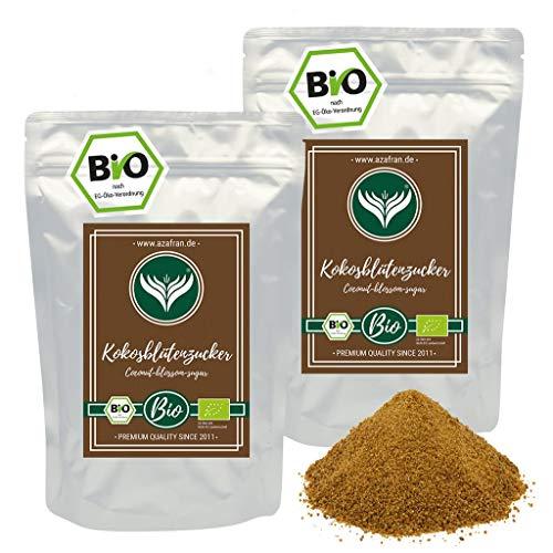 Azafran BIO Kokosblütenzucker Natur Zucker Ersatz 2kg
