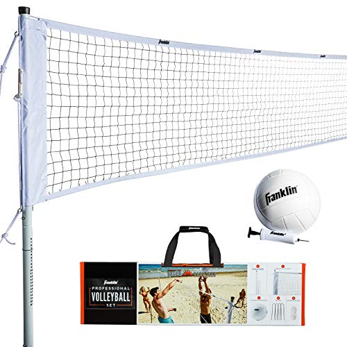Franklin Sports Volleyball Set - Backyard...