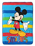 Disney Junior Mickey Mouse Clubhouse Play Twin Fleece Blanket, 62' X 90'