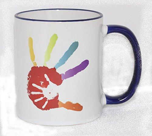 wortimbild 887 036 Tasse Hand in Hand Du bist in Gottes Hand geborgen