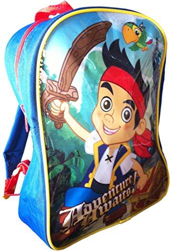 Jake Y los Piratas De Nunca Jamás - Mochila Infantil, 25 x 30 cm (Mercury 01JK1003)