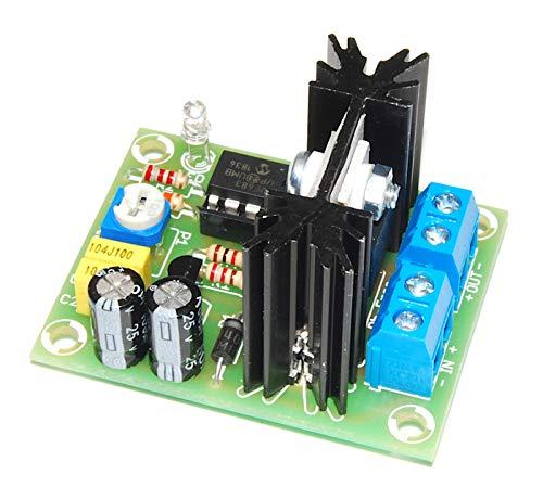 AR163M Softstart für DC - Motoren, Bürsten-Gleichstrommotoren/Beleuchtung eliminiert Ruckeln PWM LED-Anzeige aufgebautes, geprüftes Modul