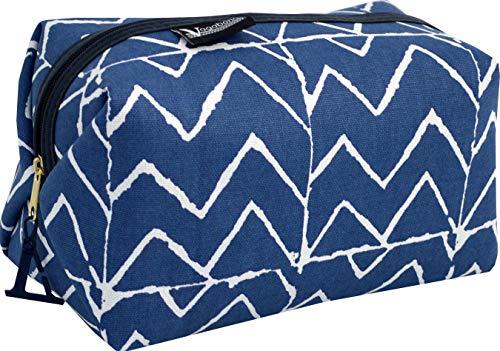 Vagabond Bags Mojave Medium Boxy Holdall Bag Trousse de Toilette 23 Centimeters Bleu (Blue)