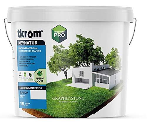 Pintura Ecológica Altas prestaciones TKROM KEYNATUR (15 litros)