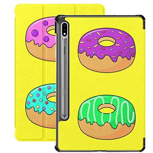 Kawaii - Funda para Samsung Galaxy Tab S7 Plus Galaxy Tab S7 Plus Galaxy Tab S7/S7 Plus Galaxy Tab A con soporte para Samsung Galaxy Tab S7 11 pulgadas S7 Plus 12.4 Inc