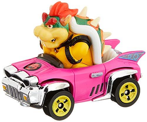 Mattel - Hot Wheels Vehiculos Mario Kart, Bowser, coche de juguete ( GBG31) , color/modelo surtido