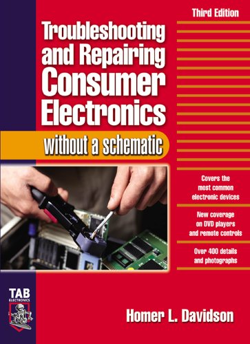 Troubleshooting & Repairing Consumer Electronics Without a Schematic (Tab Electronics) (English Edition)