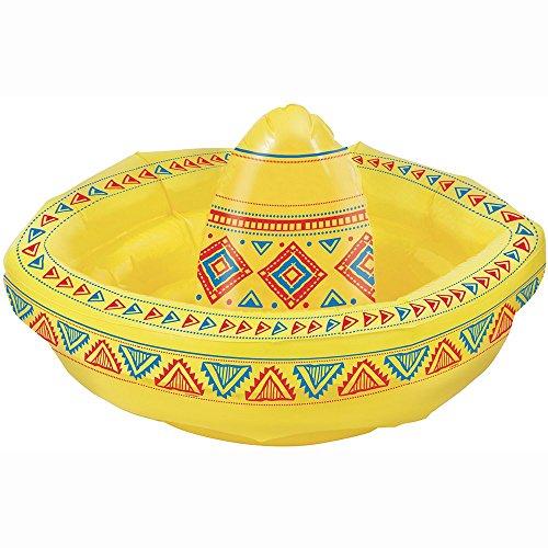 Unique Party - Sombrero Enfriador De Bebidas Inflables (90692)