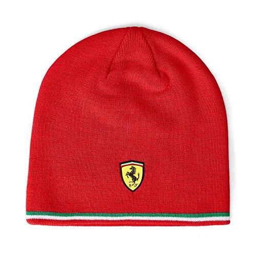 Cuffia Ferrari Ufficiale Cappello Cappellino Berretto Scuderia Cavallino Rossa CUFFERROS