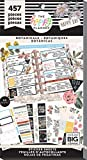 me & my BIG ideas Sticker Value Pack - The Happy Planner Scrapbooking Supplies - Botanicals Theme - Multi-Color - Great for Projects, Scrapbooks & Albums - 30 Sheets, 457 Stickers Total