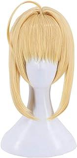 329 FGO Fate Grand Order Extra Nero Claudius Blond Cosplay Wig