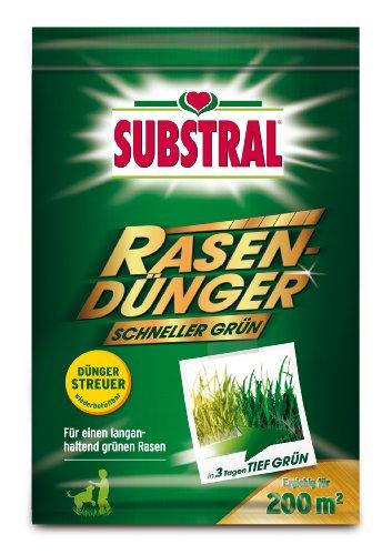 "Substral Rasendünger \""Schneller Grün\"" 200 m² - 7 kg"