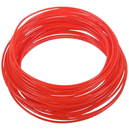 Gaetooely 3D Printer Pen Filament 1.75mm ABS 10m (RED ABS)