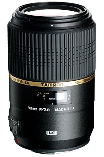 Tamron SP 90 mm F/2,8 Di USD Makro-Objektiv 1:1 für Sony schwarz