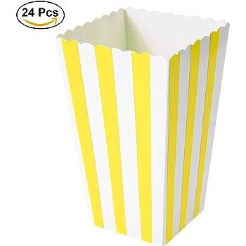 Ouinne Cajas de Palomitas, 24PCS Popcorn Boxes Maíz Envases del ...