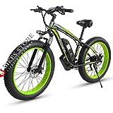 Elektrofahrrad E-Bike Mountainbike, 26'*4.0Elektrisches Fahrrad mit 48V 1000W Heckmotor 18AH...