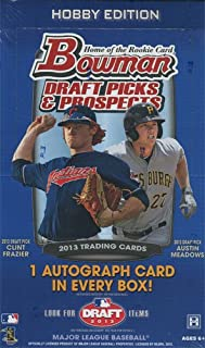 2013 bowman draft baseball box