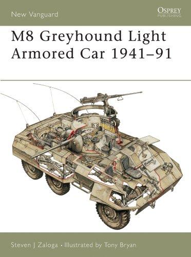 M8 Greyhound Light Armored Car 1941–91 (New Vanguard Book 53) (English Edition)